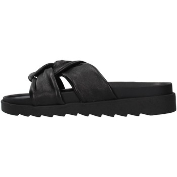 Schuhe Damen Pantoffel Apepazza S1SOFTWLK01/LEA SCHWARZ