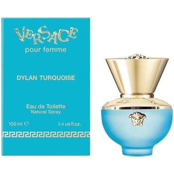 Beauty Damen Eau de parfum  Versace Dylan Turquoise - köln - 100ml - VERDAMPFER Dylan Turquoise - cologne - 100ml - spray
