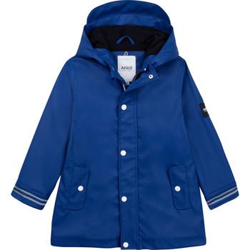 Kleidung Kinder Windjacken Aigle PAULA Blau