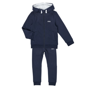 Kleidung Jungen Jogginganzüge BOSS COLLETA Marine