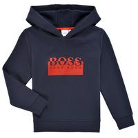Kleidung Jungen Sweatshirts BOSS MARKE Marine