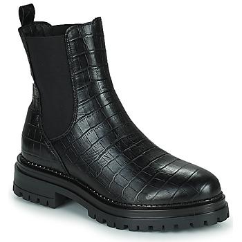 Schuhe Damen Boots Betty London PEDRO Schwarz