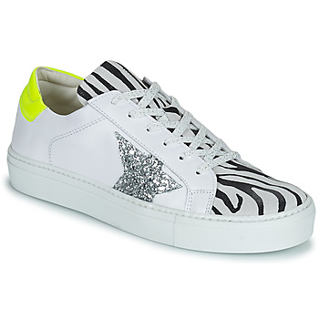 Schuhe Damen Sneaker Low Betty London PAVLINA Weiss