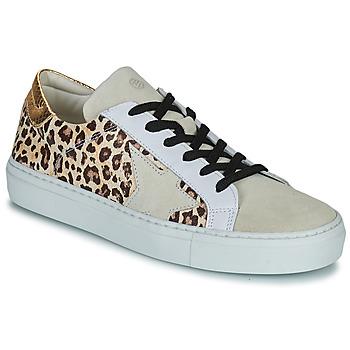 Schuhe Damen Sneaker Low Betty London PAVLINA Beige