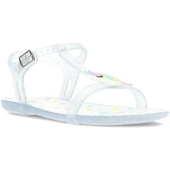 Schuhe Mädchen Sandalen / Sandaletten Igor SANDAL TRICIA EINHORN S10274 TRANSPARENT