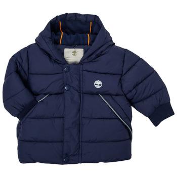 Kleidung Jungen Daunenjacken Timberland ASSAGAC Marine
