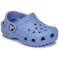 Schuhe Kinder Pantoletten / Clogs Crocs CLASSIC CLOG K Blau
