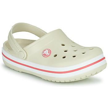 Schuhe Kinder Pantoletten / Clogs Crocs CROCBAND CLOG K Beige / Orange