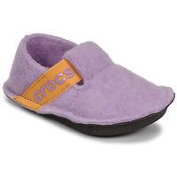 Schuhe Mädchen Hausschuhe Crocs CLASSIC SLIPPER K Violett / Gelb