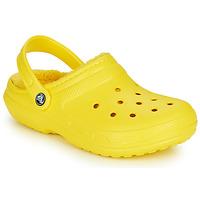 Schuhe Pantoletten / Clogs Crocs CLASSIC LINED CLOG Gelb