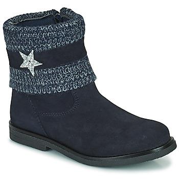 Schuhe Mädchen Boots Citrouille et Compagnie PASTEK Marine
