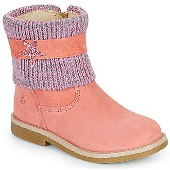 Schuhe Mädchen Boots Citrouille et Compagnie PASTEK Rose