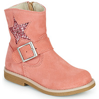 Schuhe Mädchen Boots Citrouille et Compagnie POUDRE Rose