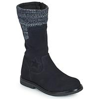 Schuhe Mädchen Klassische Stiefel Citrouille et Compagnie PRARA Marine
