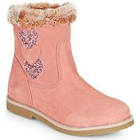 Schuhe Mädchen Klassische Stiefel Citrouille et Compagnie PARAVA Rose