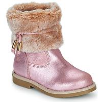 Schuhe Mädchen Boots Citrouille et Compagnie PAKRETTE Rose