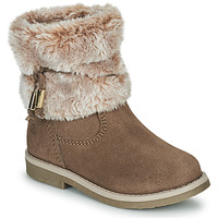 Schuhe Mädchen Boots Citrouille et Compagnie PAKRETTE Camel