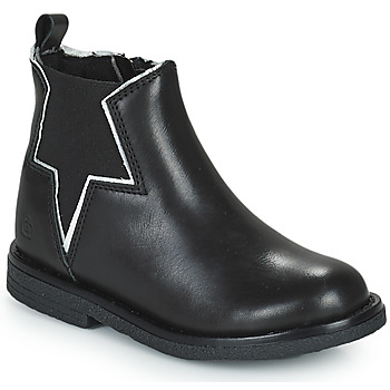 Schuhe Mädchen Boots Citrouille et Compagnie PRATO Schwarz