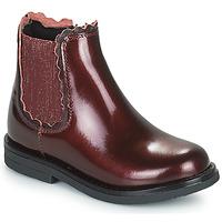 Schuhe Mädchen Boots Citrouille et Compagnie PRAIRIE Bordeaux