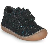 Schuhe Mädchen Sneaker Low Citrouille et Compagnie PIOTE Blau