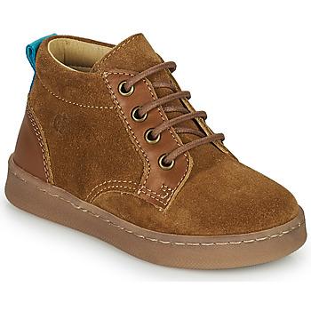 Schuhe Jungen Sneaker High Citrouille et Compagnie PACELLE Camel