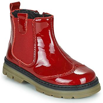 Schuhe Mädchen Boots Citrouille et Compagnie PATATA Rot