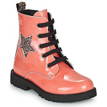 Schuhe Mädchen Boots Citrouille et Compagnie PICOTI Rose
