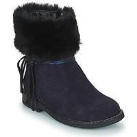 Schuhe Mädchen Boots Citrouille et Compagnie PICOTA Marine