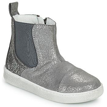 Schuhe Mädchen Boots Citrouille et Compagnie PIMANE Grau
