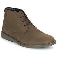 Schuhe Herren Boots Clarks ATTICUSLTHIGTX Braun