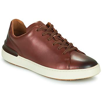 Schuhe Herren Derby-Schuhe Clarks COURTLITE LACE Braun