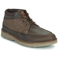 Schuhe Herren Boots Clarks EASTFORD TOP Braun