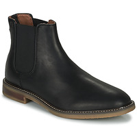 Schuhe Herren Boots Clarks JAXEN CHELSEA Schwarz