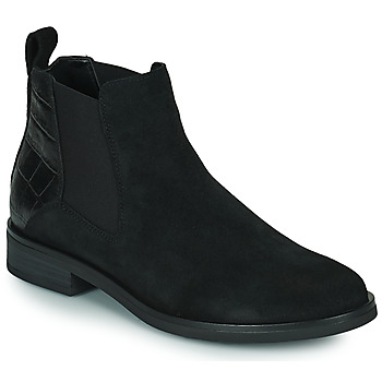 Schuhe Damen Boots Clarks MEMI TOP Schwarz