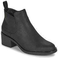 Schuhe Damen Low Boots Clarks MEMI ZIP Schwarz