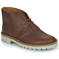 Schuhe Herren Boots Clarks OVERDALE MID Camel