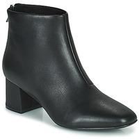 Schuhe Damen Low Boots Clarks SHEER55 ZIP Schwarz