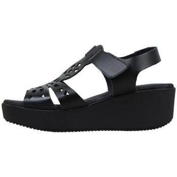 Schuhe Damen Sandalen / Sandaletten Amanda  Schwarz
