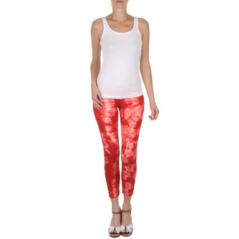 Kleidung Damen 3/4 Hosen & 7/8 Hosen Eleven Paris DAISY Rot / Weiss