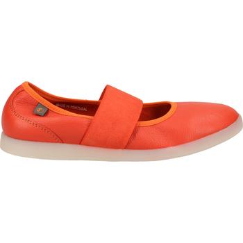 Schuhe Damen Ballerinas Softinos Ballerinas Rot