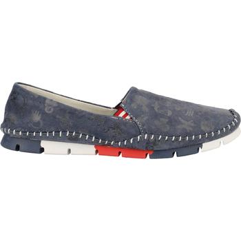 Schuhe Damen Ballerinas Cosmos Comfort Slipper Blau
