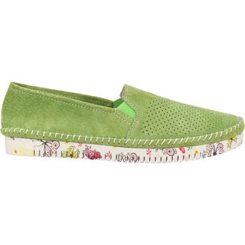 Schuhe Damen Slipper Cosmos Comfort Slipper Grün
