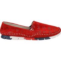 Schuhe Damen Ballerinas Cosmos Comfort Slipper Rot