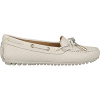 Schuhe Damen Ballerinas Scapa Mokassin Weiß