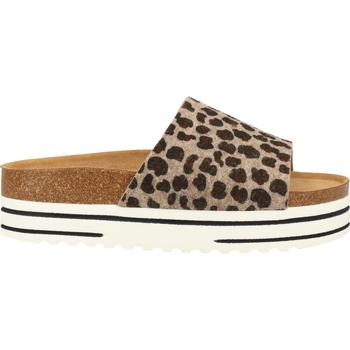 Schuhe Damen Sandalen / Sandaletten Shepherd Hausschuhe Leopard