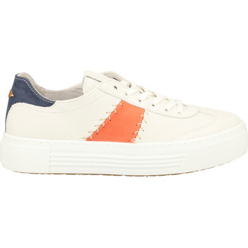 Schuhe Damen Sneaker Camel Active Sneaker Weiß/Orange