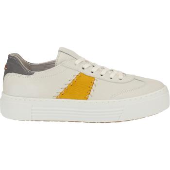 Schuhe Damen Sneaker Camel Active Sneaker Weiß/Gelb