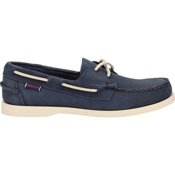 Schuhe Herren Bootsschuhe Sebago Halbschuhe Navy