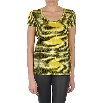 Kleidung Damen T-Shirts Eleven Paris DARDOOT Gelb
