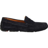 Schuhe Herren Slipper Lloyd Mokassin Navy